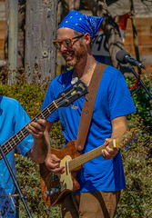 2018 Street Fair--DSC09813-1--Port Orford, OR (Lance & Cromwell back from a Road Trip) Tags: streetfair2018 portorford currycounty oregon portorfordheads music entertainment sony sonyalpha emount a7ii 24240mm fe24240mm 24240mmlens event