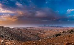 Summer Colours. (Pedro López Batista) Tags: fuerteventura canarias canaryislands canon sky sunset panoramica 6dmarkii atardecer paisaje clouds cielo