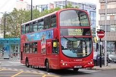 Arriva DW107 (LJ05BKA). (Fred Dean Jnr) Tags: arriva vdl bus db250 wright wrightbus pulsar gemini dw107 georgestreetcroydon london august2019 croydon route466 lj05bka