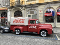 Vintage Vehicle - Ford F-100 - Coca-Cola Delivery Truck - Prague, Czech Republic (firehouse.ie) Tags: ford truck coke pickup f100 cocacola vintage prague praha vehicles vehicle czechrepublic vehicule vehicules street city downtown fords