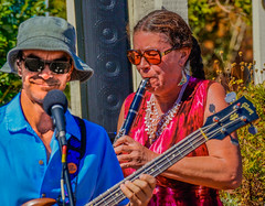 2018 Street Fair--DSC8080--Port Orford, OR (Lance & Cromwell back from a Road Trip) Tags: streetfair2018 portorford currycounty oregon portorfordheads music entertainment sony sonyalpha emount a7ii 24240mm fe24240mm 24240mmlens event