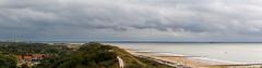 Panorama Walcherse Kust (Tom van der Heijden) Tags: 60d canon canoneos60d dishoek eos eos60d panorama walcheren zeeland strand vlissingen wolken
