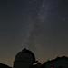 Milky way above Kolonica observatory at Kolonica saddle