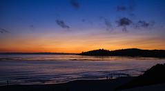 Carmel Beach Sunset (Steve Holsonback) Tags: carmel beach sunset sony a350 monterey peninsula california