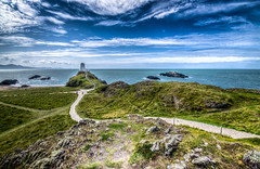 path to lighthouse (Glen Parry Photography) Tags: glenparryphotography landscape anglesea d7000 landscapephotography llanddwyn llanddwynisland nikon nikond7000 nikonphotographer nikonphotography northwales sea seascape sigma sigma1020mm uklandscape wales walking