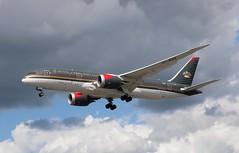 JY-BAE Boeing 787-8 Dreamliner Royal Jordanian Airlines (R.K.C. Photography) Tags: jybae boeing 7878 b787 dreamliner royaljordanian rja rj aircraft aviation airliner london england unitedkingdom uk 27r londonheathrowairport lhr egll canoneos750d
