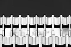 Bremer Landesbank (LG_92) Tags: bremen germany niedersachsen deutschland architecture carusostjohn caruso contemporary facade 2019 nikon dslr d3100 july monochrome blackandwhite bw