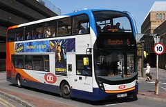 20190515 - 4725 - Stagecoach East (Peterborough) - Enviro 400 MMC - No 10877 - Route 6 - Queensgate Bus Station - Peterborough (Paul A Weston) Tags: 10877 route6 stagecoach stagecoacheast enviro400mmc queensgatebusstation peterborough