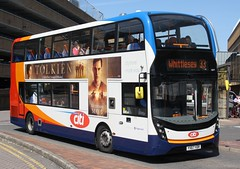 20190515 - 4732 - Stagecoach East (Peterborough) - Enviro 400 MMC - No 10879 - Route 33 - Queensgate Bus Station - Peterborough (Paul A Weston) Tags: stagecoach stagecoacheast enviro400mmc route33 peterborough queensgatebusstation 10879