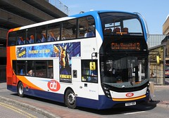20190515 - 4741 - Stagecoach East (Peterborough) - Enviro 400 MMC - No 10881 - Route 2 - Queensgate Bus Station - Peterborough (Paul A Weston) Tags: stagecoach stagecoacheast peterborough queensgatebusstation enviro400mmc route2 10881