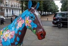 Hope (Mabacam) Tags: 2019 london kensington chelsea worldhorsetrail theboroughtrail horse pony horsesculpture ponysculpture art artinstallation outdoors animal animalwelfare hope cheryljohnson