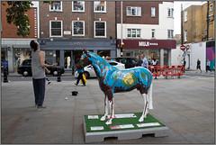 Hope & The Juggler (Mabacam) Tags: 2019 london kensington chelsea worldhorsetrail theboroughtrail horse pony horsesculpture ponysculpture art artinstallation outdoors animal animalwelfare hope cheryljohnson juggling juggler