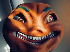 2019 Pumpkin Grin Papier Mache Jack O Lantern 8367 (Brechtbug) Tags: 2019 pumpkin grin paper mache jack o lantern pumpkins halloween candy bucket orange plastic holiday face smiling smile jackolantern spooky creepy 1920s 20s 20 1930s 30s 30 german retro vintage sculpture toy toys decoration bandit thug crime criminal mask nyc decor new york city papier