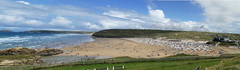 D22168-70,p.  Perranporth. (Ron Fisher) Tags: perranporth cornwall westcountry westofengland beach seaside sea sand england europe europa gb greatbritain uk unitedkingdom sky clouds