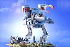 Timber Wolf (Frost Bricks) Tags: mechwarrior battletech timber wolf moc mech giant robot mwo lego ideas