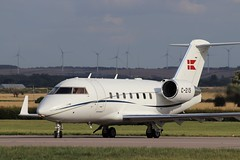 Royal Danish AF Bombardier Challenger 604 C-215, departure CBG (robertetienne) Tags: royaldanishairforce bombardier challenger cl604 c215 cambridgeairport aircraft airplanes military jets aviation
