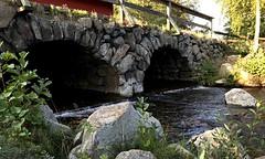 Water Coming Through a Sluice Gate (halleluja2014) Tags: summer august sweden dalarna falun faluån varpan sluicegate sluice sluss