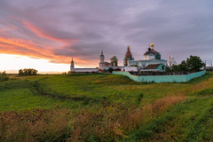 Под Коломной (gubanov77) Tags: russia kolomna orthodox monastery temple bobrenevmonastery staroyebobrenevo sunset dusk village goldenhour church
