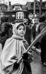 DSC_7320_epgs (Eric.Parker) Tags: april 19 easter 2019 goodfriday procession littleitaly stfrancis assisi church stfrancisofassisi college street jesus christ stationsofthecross christian christianity brassband toronto palm bw