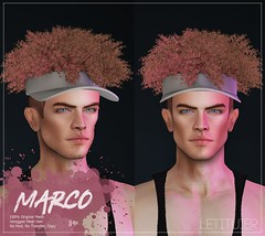 {Letituier} Marco Hair - MAN CAVE Event!! (Nayomi Gartner) Tags: secondlife slmodels supermodel summer spring hair letituier nayomigartner