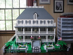 Charleston Mansion (novels44) Tags: lego afol moc charlestonmansion mansion charlestonbattery charleston architecture
