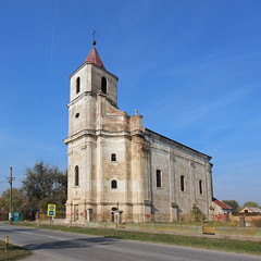 Holy Trinity church - Kukujevci, Serbia (russ david) Tags: kukujevci кукујевци village serbia november 2018 architecture travel balkans србија republic република republika srbija church rimokatolicka crkva presvetog trojstva holy roman trinity catholic