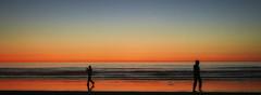 silhouettes on the beach (Audvis) Tags: alisitos colores colors méxico playa beach siluetas silhouettes sea mar pesca fishing travel viajes