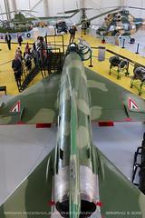 MiG-21 simulator (srkirad) Tags: aviationmuseum aviation museum reptar aircraft airplane jet military fighter mikoyan gurevich mig mig21 fishbed russian hungarian simulator