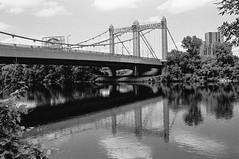 Hennepin Avenue Bridge, Minneapolis, MN (Postcards from San Francisco) Tags: m2 trix ddd 35mmsummicroniv film analog minneapolis minnesota mississippi