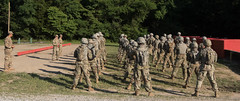 Cadets from 6th Regiment Advanced Camp take on the Grenade Range. (jordynm_2) Tags: 5thregiment advancedcamp army armyrotc cst2019 cadetsummertraining fortknox grenaderange hooah