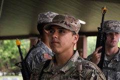 3rd Regiment, Basic Camp Cadets learn the fundamentals of Field Craftsmanship during Cadet Summer Training at Fort Knox, Ky. (jordynm_2) Tags: 3rdregiment armyrotc basiccamp cst2019 fieldcraftsmanship fortknox kentucky rotc army cadet cadetsummertraining