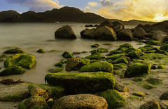 Dayawan new (E&R's) Tags: happyplanet asiafavorites asia sunset orange shenzhen blue ndfilter longexposure china colours green masking ray light beautiful serene