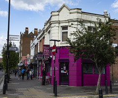 Mare Street, Hackney (London Less Travelled) Tags: uk unitedkingdom britain england london eastlondon bethnalgreen towerhamlets city urban street hackney shop shops people