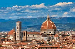 Week-end en amoureux à Florence. (jeromedelaunay) Tags: city photography beautiful view skyview colors toscana toscane histoire history monument ilduomo duomo sunrise sunset sun vacation holidays vacances europe italia italy italie firenze florence
