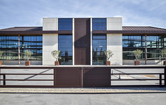 new&classical (fred9210) Tags: architecture architectural chais cave classique équilibre aerien vin bordelais aquitaine france 35mm zf structure