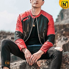 Custom Leather Jacket | Denver Leather Motorcycle Jacket CW818302 | CWMALLS.COM (cwmalls2018) Tags: men leather motorcycle jacket custommade bomber fashion shopping