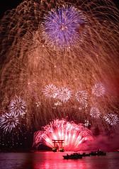 Fireworks at Bentenjima in Hamamatsu (takashi muramatsu) Tags: 弁天島花火 浜松花火 花火 bentenjima hamamatsu japan fireworks nikon d810