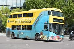 LT 174 (LTZ 1174) RATP Group London United (hotspur_star) Tags: londontransport londonbuses londonbus londonbuses2019 wrightbus newbusforlondon newroutemaster borisbus borismaster nb4l tfl transportforlondon hybridbus hybridtechnology busscene2019 doubledeck ratpgroup londonunited lt174 ltz1174 27 alloveradvert advertlivery advertisinglivery advertbus expedia