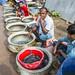 Chachra Fingerlings Market, Jashore, Bangladesh. Photo by Noor Alam
