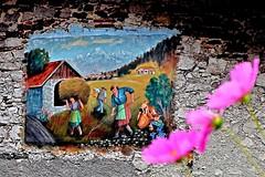 colorin (nograz) Tags: nograz murales illegio tolmezzo nikond750 colori muro fvg carnia maestri
