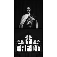 Eglise du Sacré Coeur, Limoges. (matériel brouilleur) Tags: toycamera superheadz powershovel digihari bnw diptyque diptych diptico eglise church iglesia sacrecoeur limoges hautevienne nouvelleaquitaine credo saintetherese