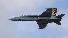 F/A-18 Hornet (Bernie Condon) Tags: fa18 hornet boeing fighter bomber military warplane jet aircraft plane flying aviation display swiss swissairforce riat airtattoo tattoo ffd fairford raffairford airfield airshow uk