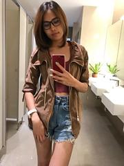 old pic-short hair (ChalidaTour) Tags: thailand thai asia asian girl femme fils chica nina teen twen sweet cute petite slender slim sexy portrait short hair
