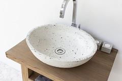 The Luca Sapphire Terrazzo Sink
