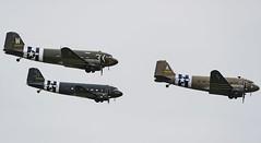 Dakotas at duxford (sgedge16) Tags: planes aviation warplane dakota duxford classic sky display war