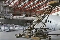 IWM Duxford 1999 DC3 and B52 refurb in Airspace hangar (Roy Szweda) Tags: iwm duxford royszweda dc3 boeingb52 1999 dakota