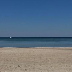 #europe #poland # #zachodniopomorskie #westpomerania #rewal #beach #seaside #vacation #blue #sand #boat #coast #water #sky #summer #travel #shore #simplicity #lategram #minimal #minimalism (pinus.acer) Tags: europe poland zachodniopomorskie westpomerania rewal beach seaside vacation blue sand boat coast water sky summer travel shore simplicity lategram minimal minimalism
