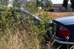 La-Rivière-de-Corps 2 August 2019 013 (paul_appleyard) Tags: jaguar abandoned car larivièrede corps aube france august 2019