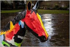 Gitana (Mabacam) Tags: 2019 london chelsea kensington worldhorsetrail worldhorsewelfare animalwelfare horse pony art artinstallation sculpture horsesculpture message story outdoors gitana julianseaman colour
