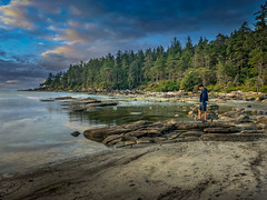 Tribune Bay Shoichi (kellypettit) Tags: comoxvalley britishcolumbia canada hornbyisland vancouverisland ocean seascape landscape alone beach sand bc holiday vacation
